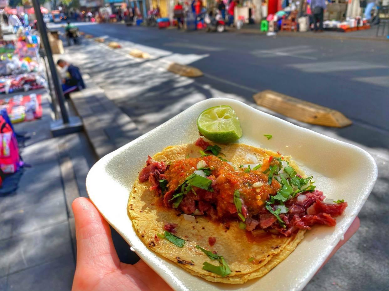 Tacos na ulicy