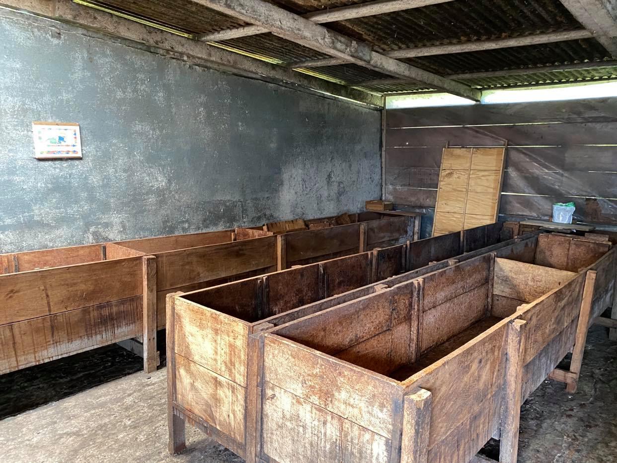 skrzynie służace do fermentowania ziaren