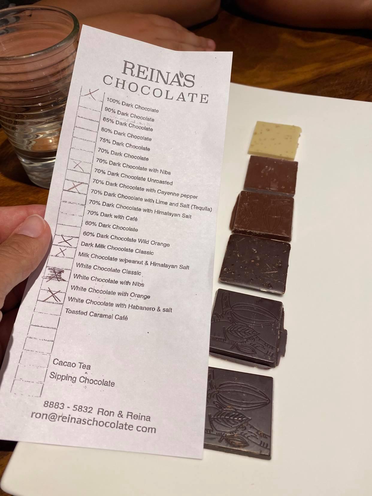 testowanie czekolad