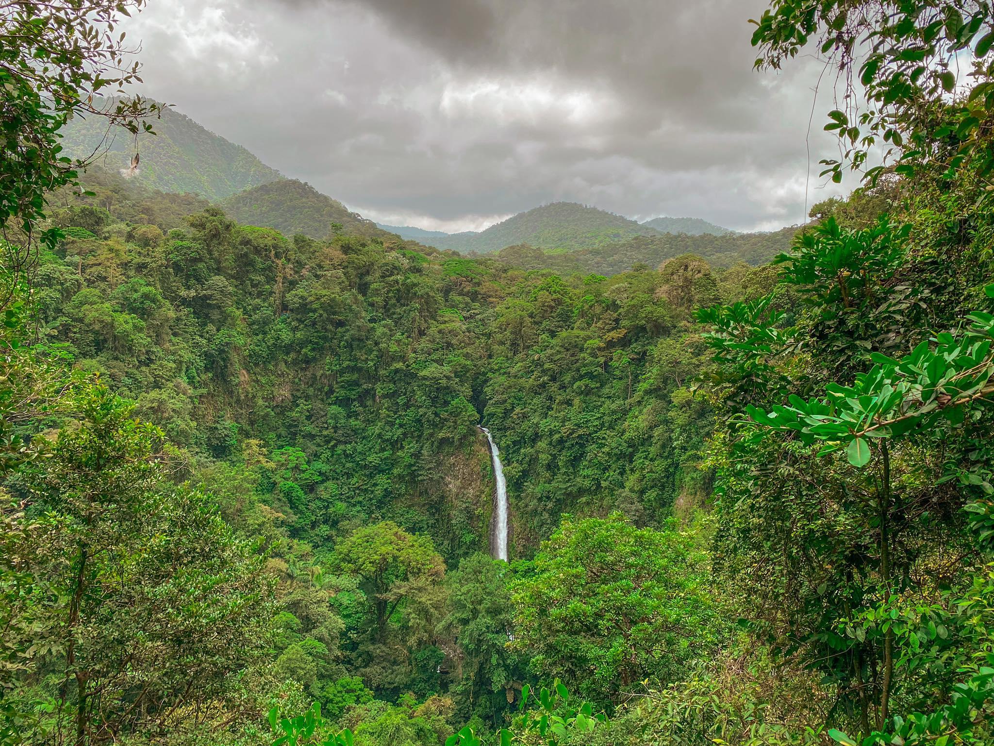 wodospad La Fortuna
