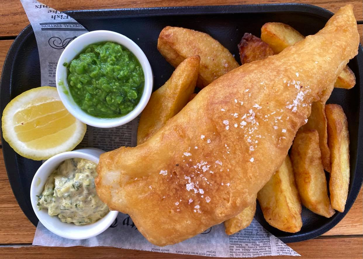 Bread Street Kitchen_fish and chips