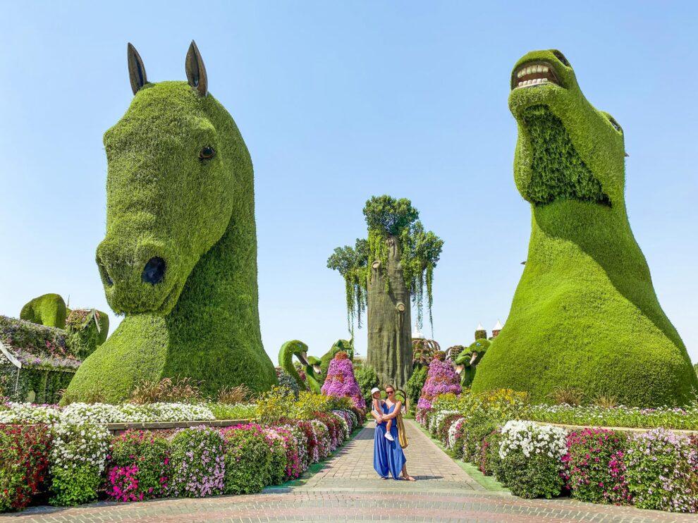 Dubai Miracle Garden_wejście