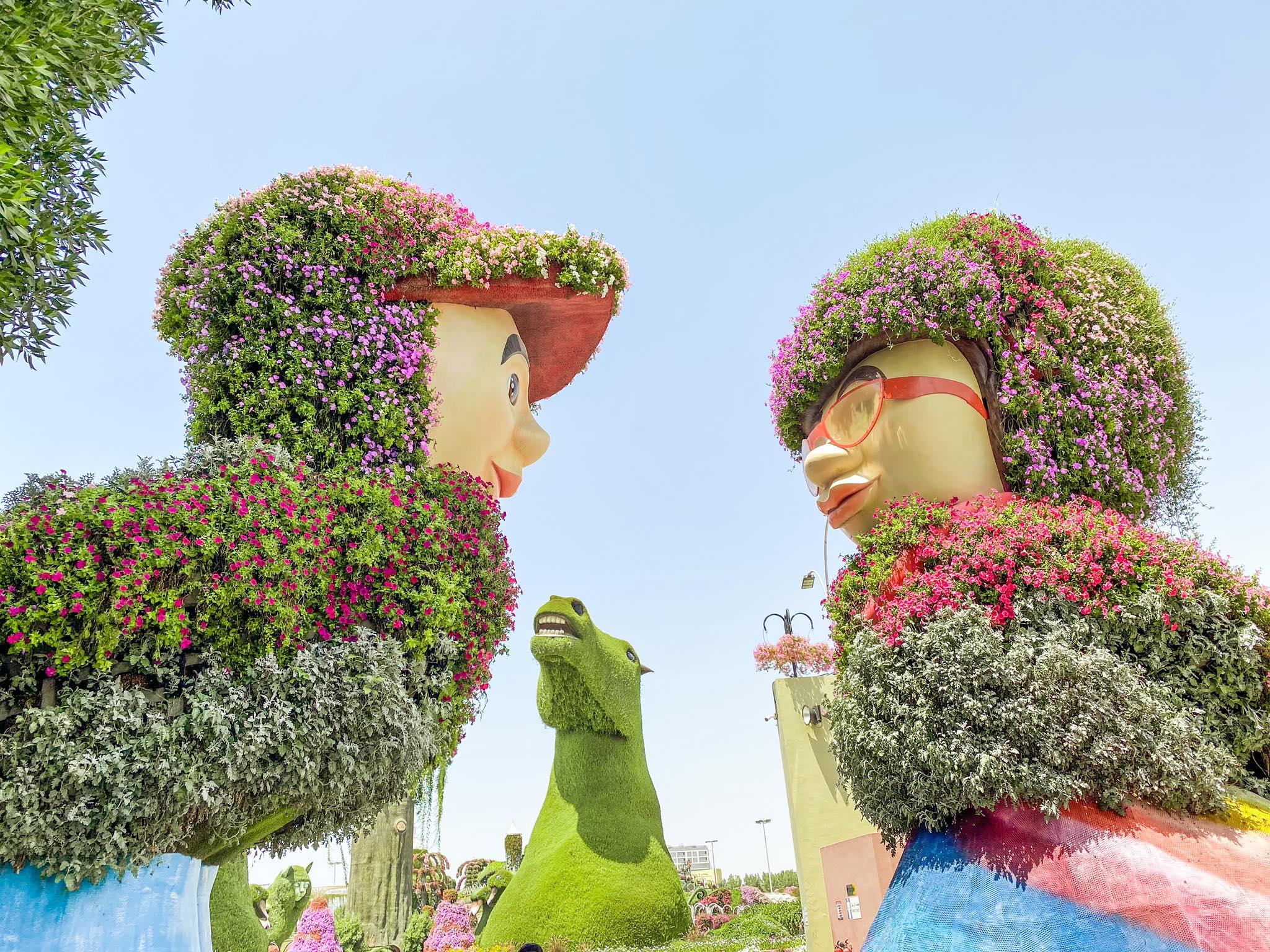 Dubai Miracle Garden_wejście_2
