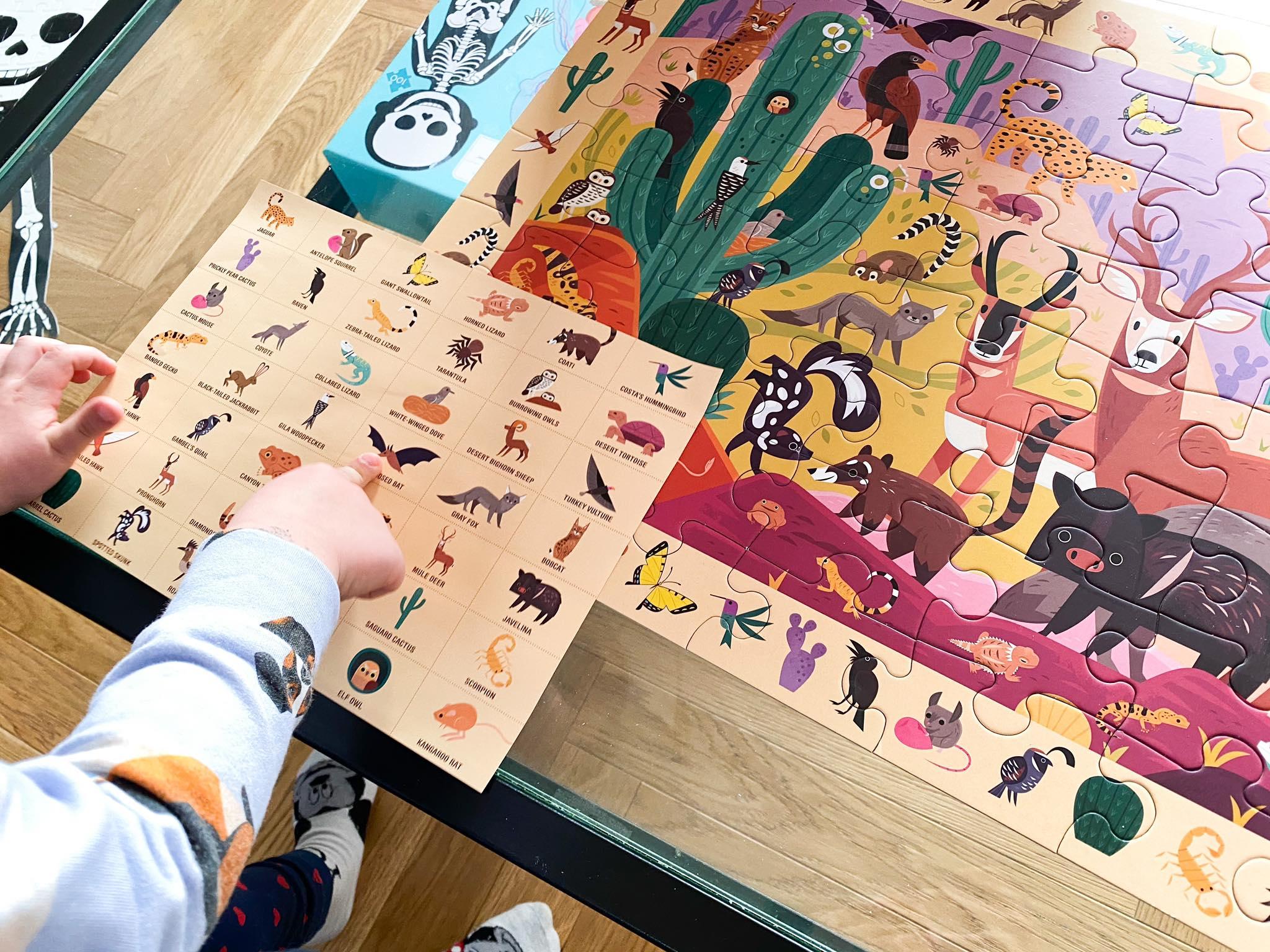 puzzle zwierzęta_szukanie