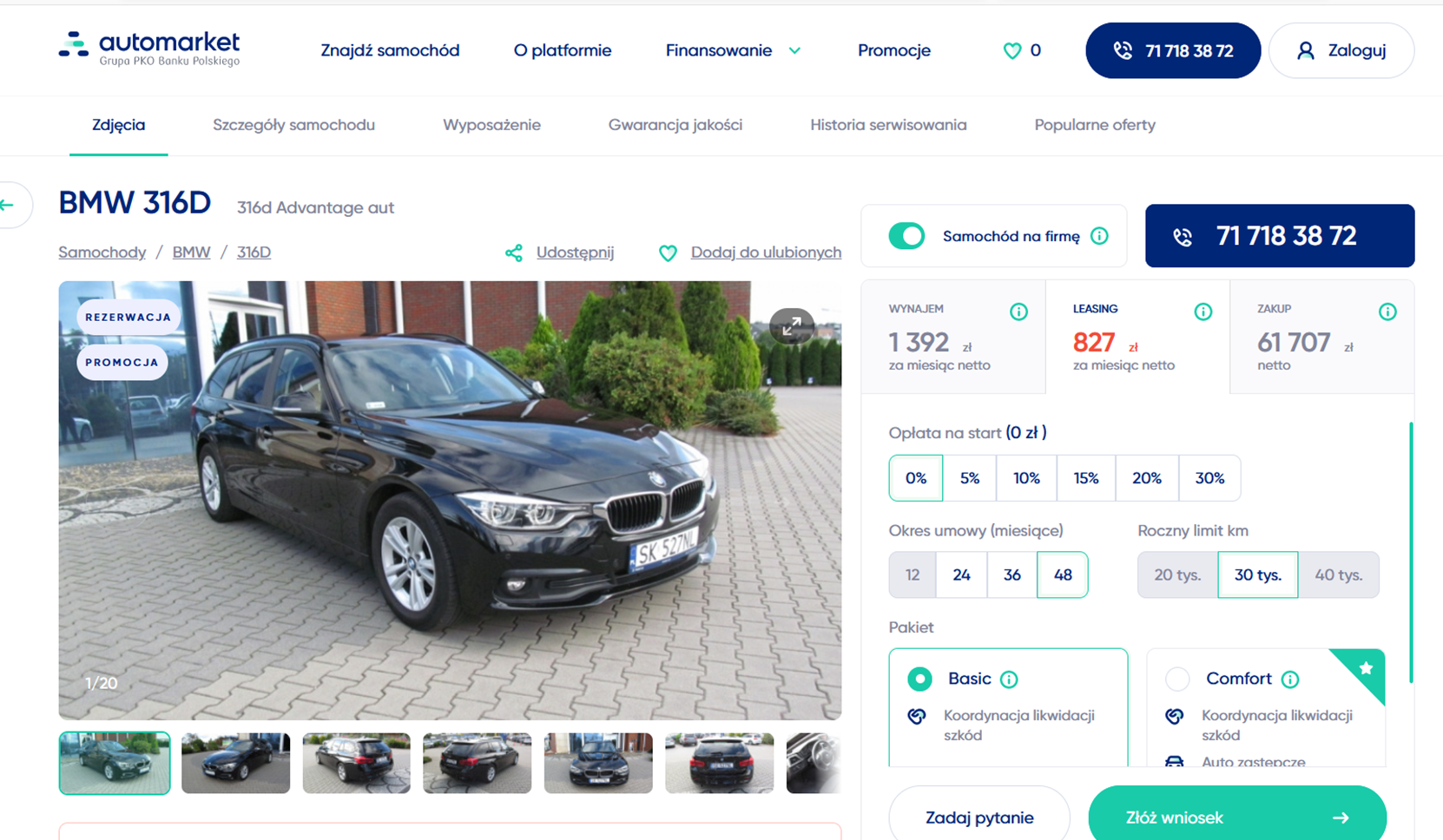 Automarket_kalkulator oferty