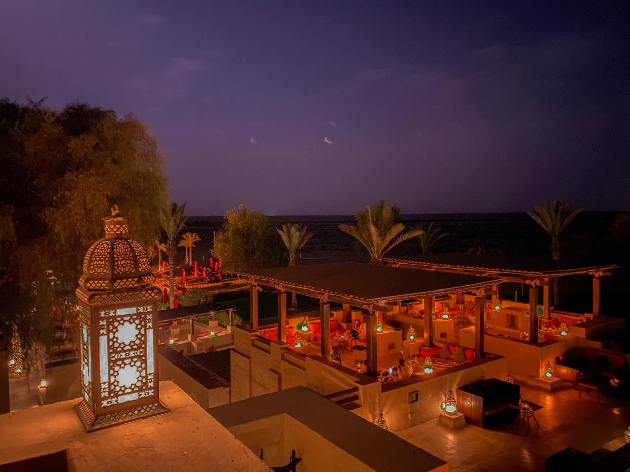 Bab al Shams_wieczorem