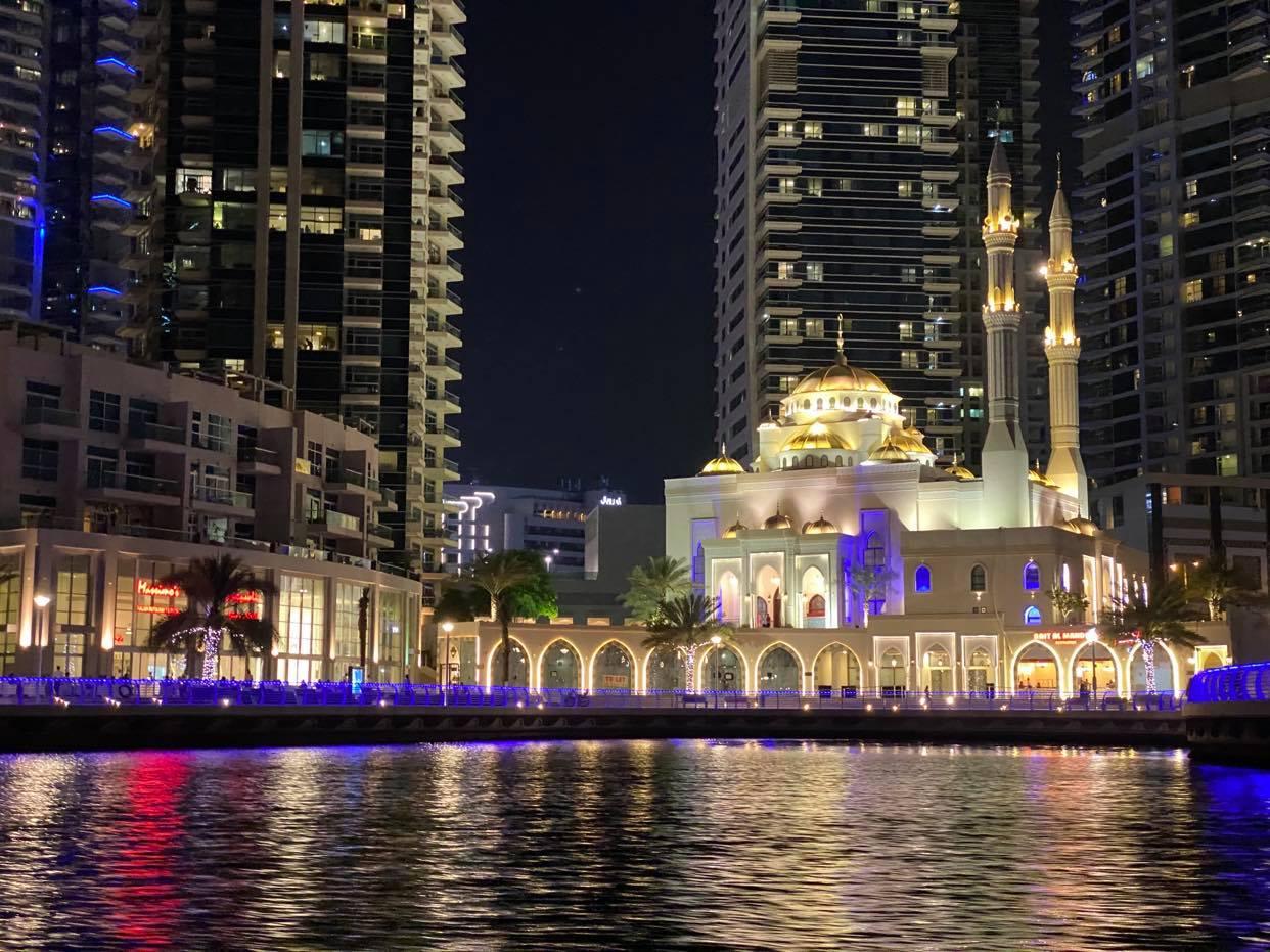Dubai Marina_Meczet