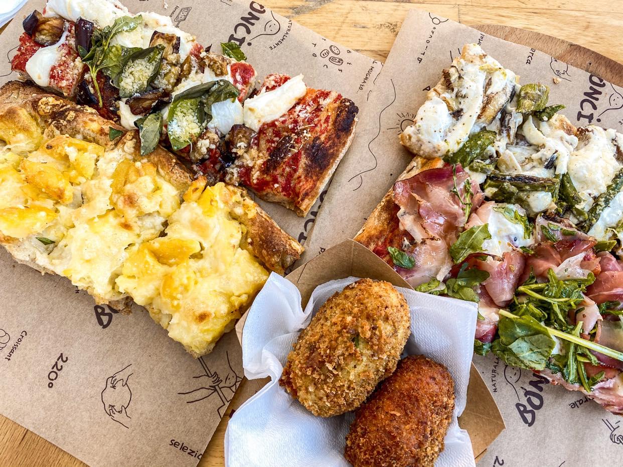 Pizzarium Bonci_obiad