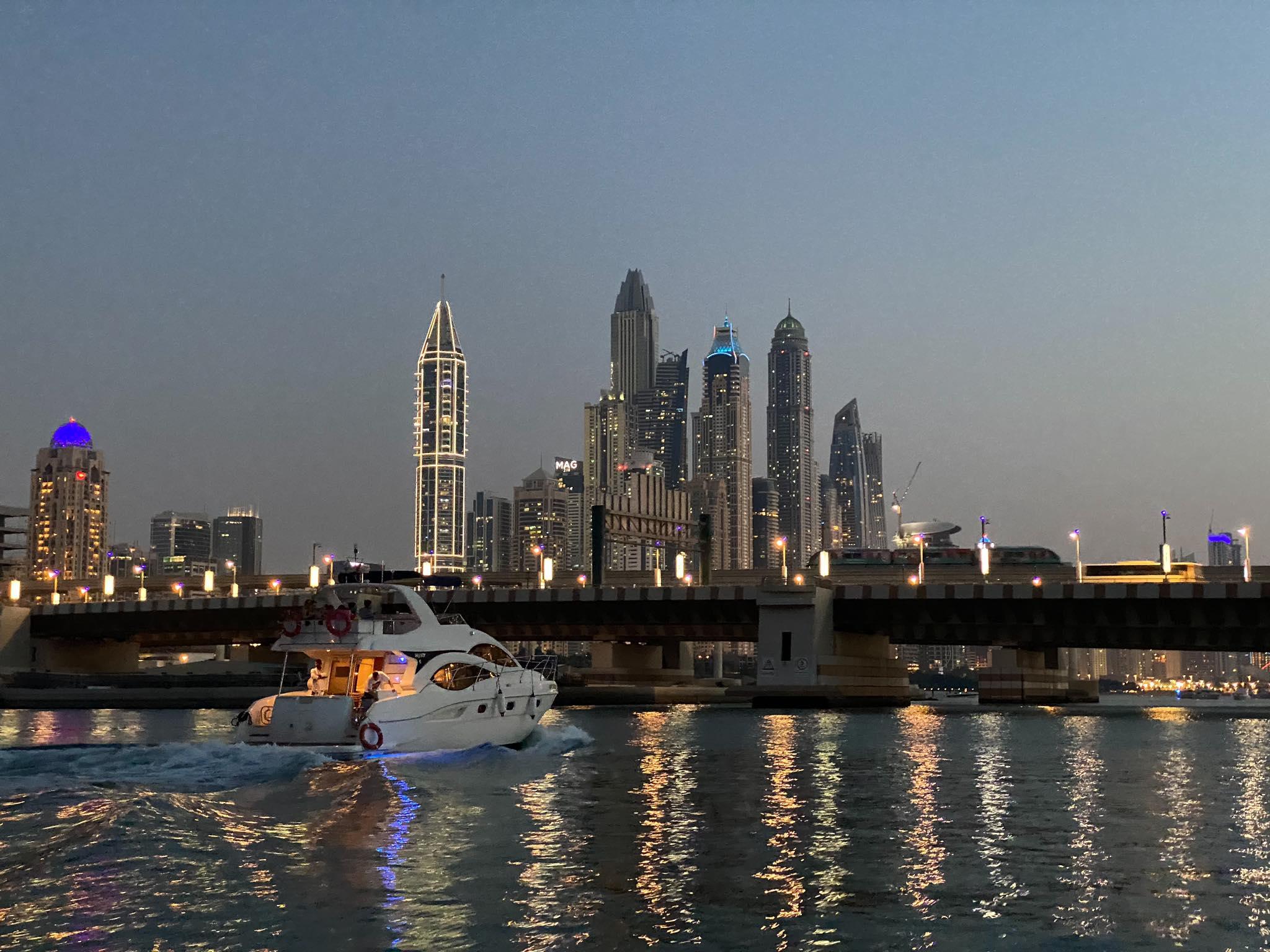 Powrót do Dubai Marina