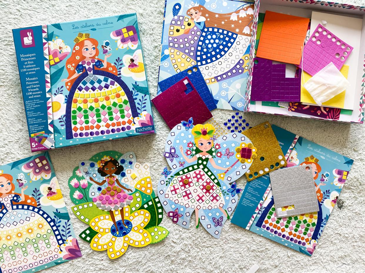 Zestawy kreatywne Mozaiki