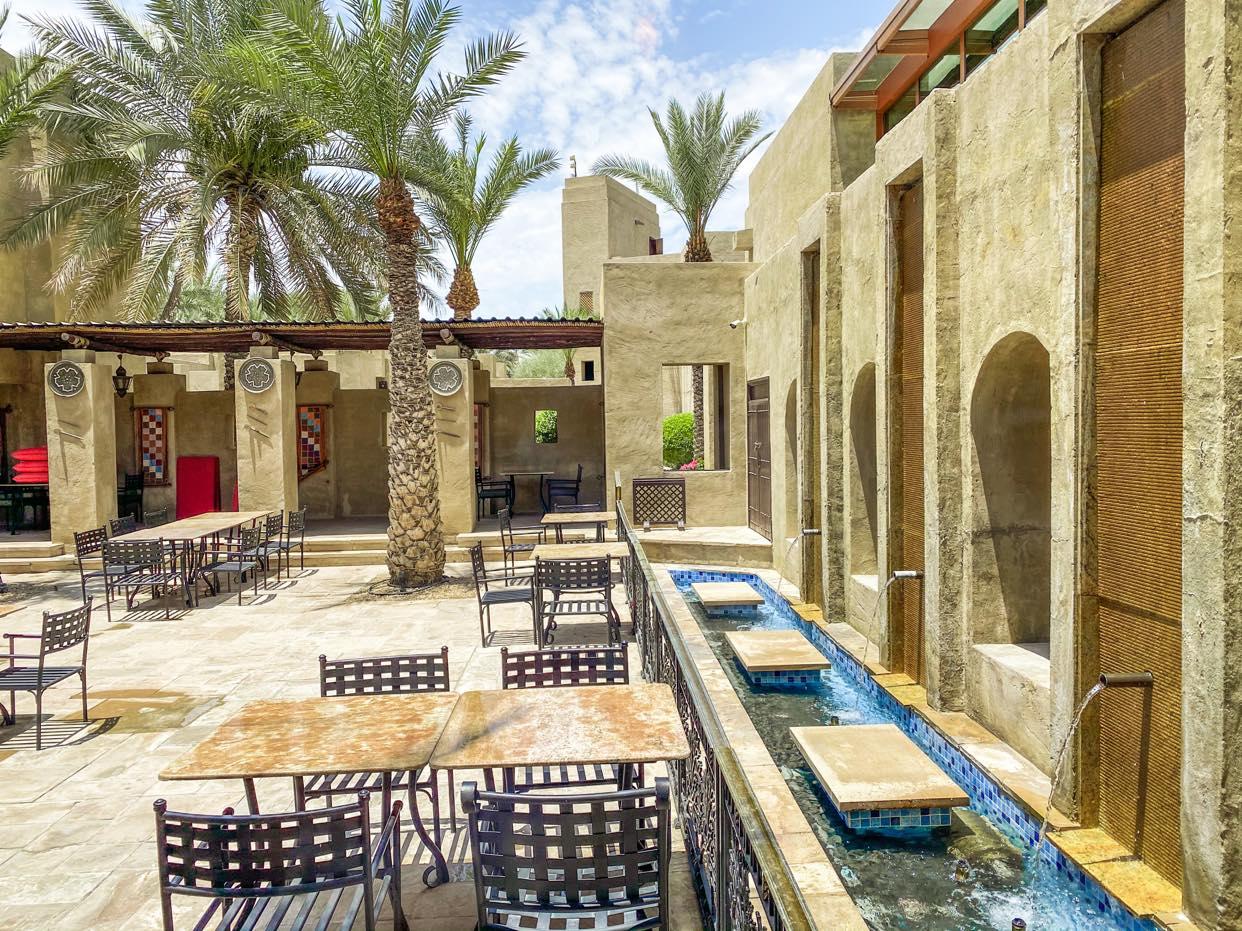 patio i restauracja indyjska Masala