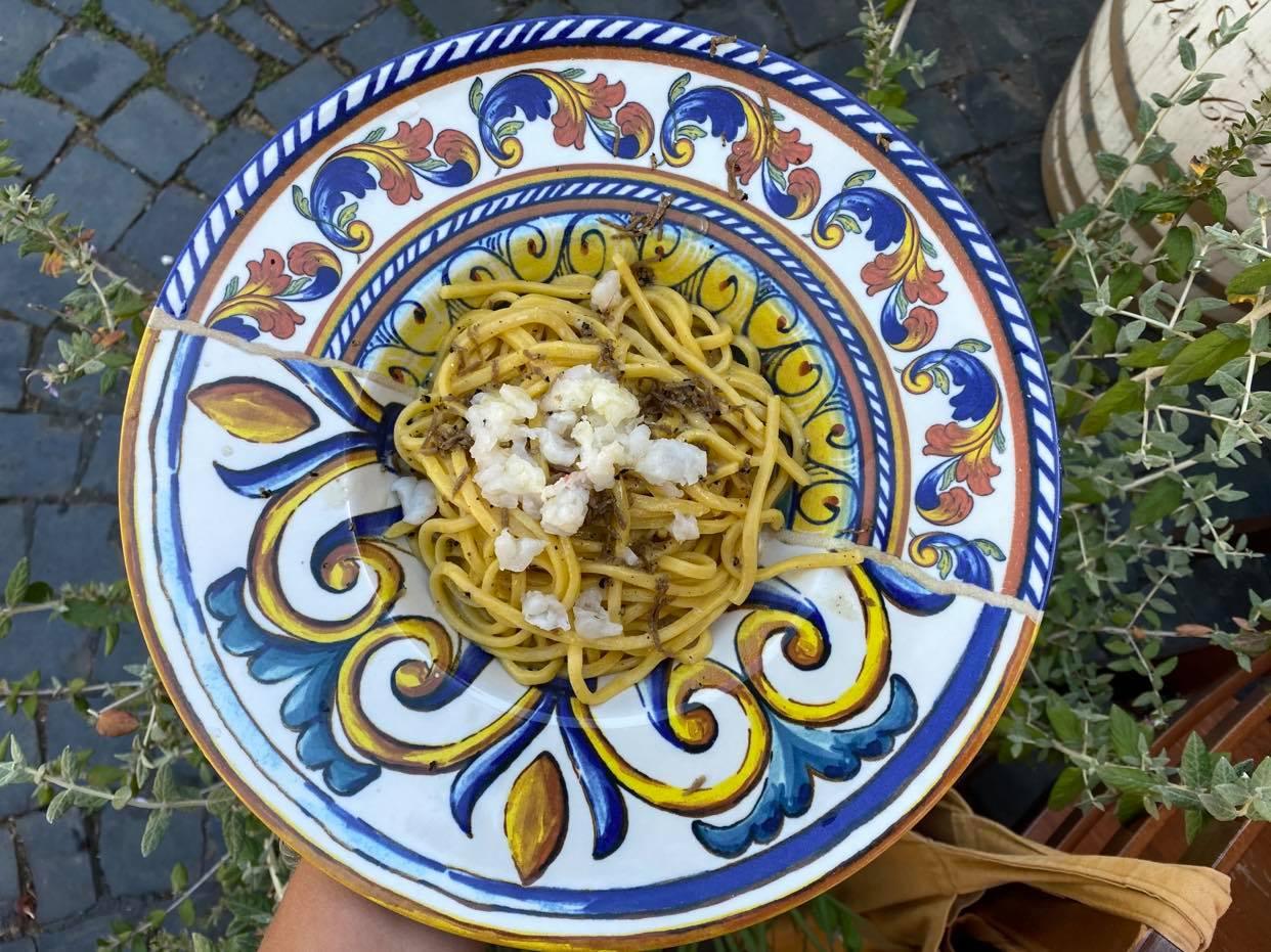 obiad w Bracciano