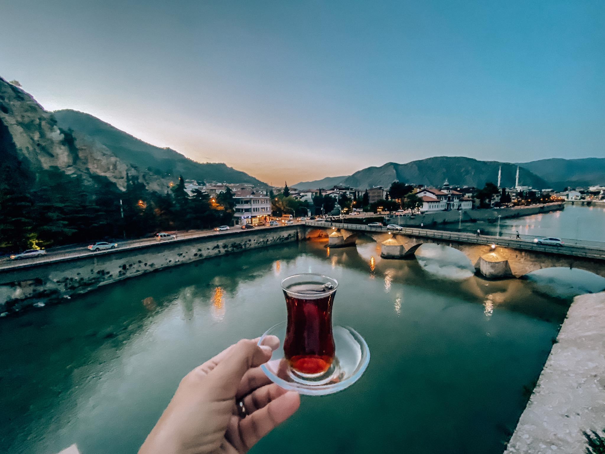 Amasya_taras w Lalehan Hotel