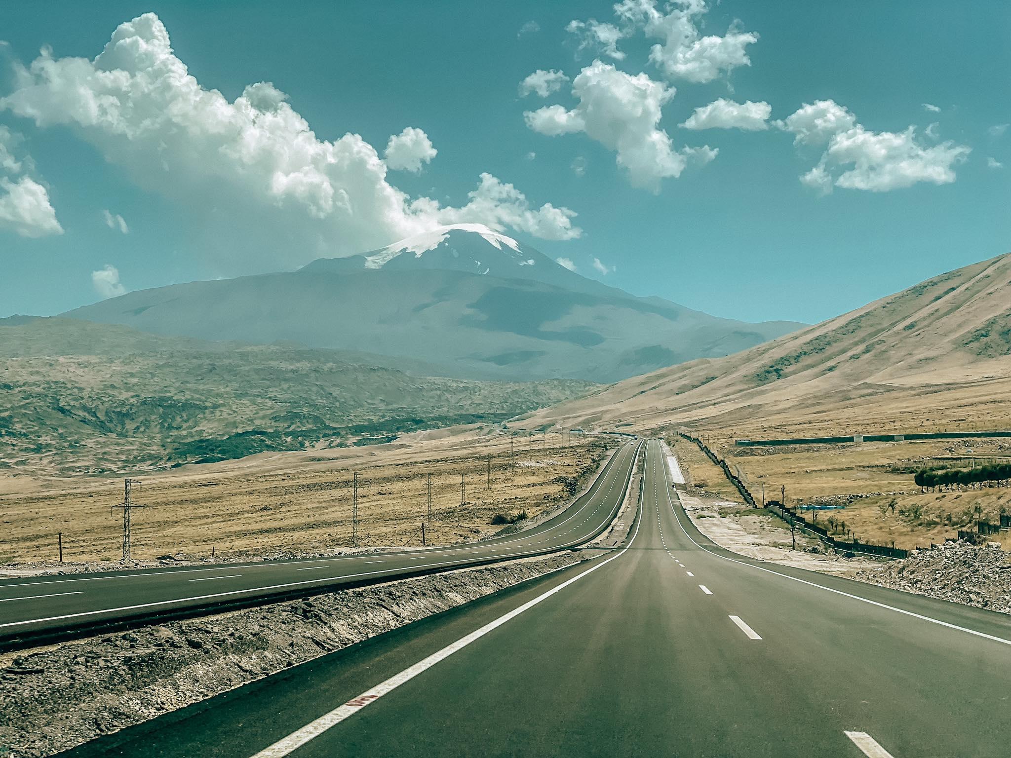 trasa KARS_widok na Ararat