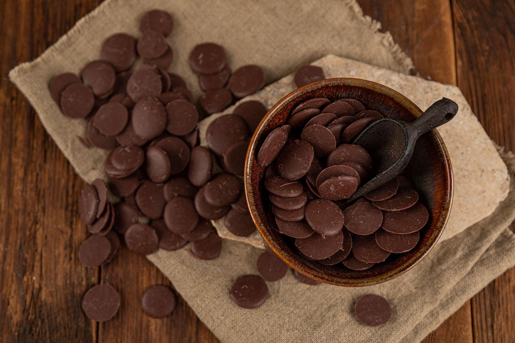 dropsy czekoladowe